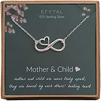 Amazon.com: EFYTAL Mom Gifts, 925 Sterling Silver Infinity