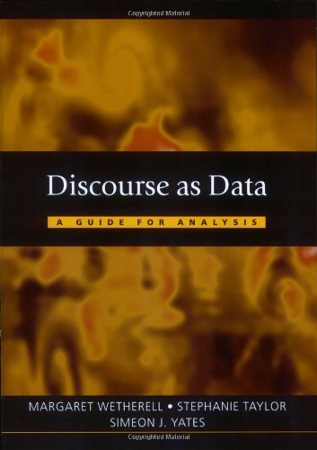 Discourse as Data: A Guide for Analysis: 1st (First) Edition