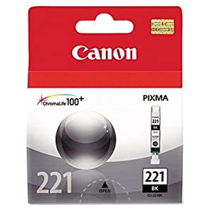 CANON CNM2946B001 CANON BR MP980-IP4600 - 1-CLI221B SD BLACK INK