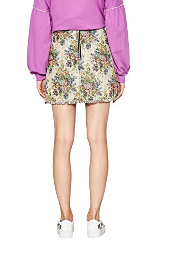 edc by Esprit 110 Femme Multicolore Jupe Off White Paarqwd