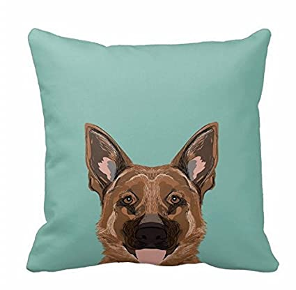 Amazon Com Skylar German Shepherd Gifts For Dog People Dog Pillow