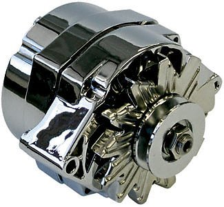 Proform 664458N Alternator For Select GM Vehicles, 80 Amp, 1-Wire 66445.8N