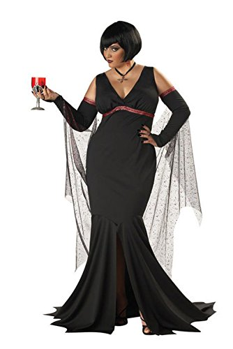 [Mememall Fashion Sexy Gothic Immortal Vampire Plus Size Costume] (Sexy Beetlejuice Costumes)