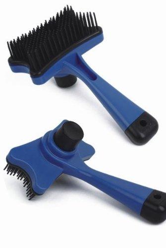 Уменьшения нежелательных волос Pet Brush для собак и кошек - Ограниченное время цена акции - эффективное Мобильная Зоосалон, самоочищающиеся Tool, кистей - для маленьких и больших домашних животных - для любого типа кожи и типов волос - лучший отдых, пода