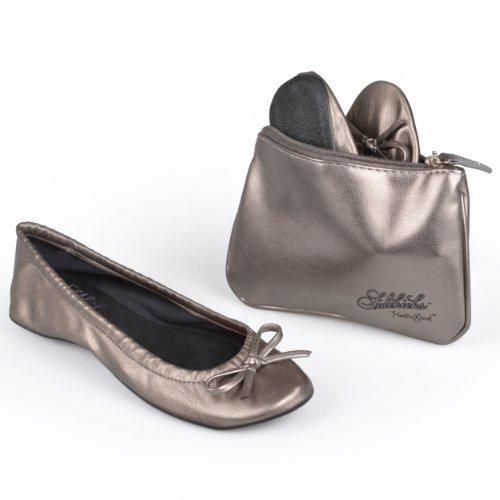 f314bbecd Amazon.com | Sidekicks Womens Foldable Ballet Flats | Flats