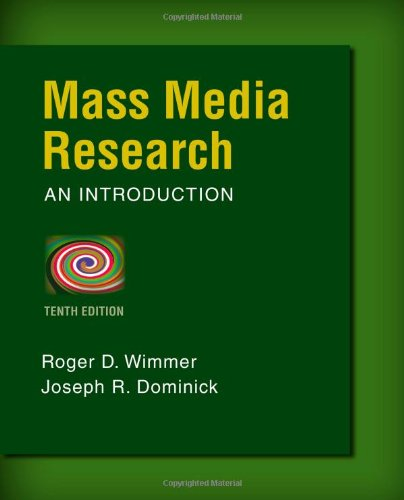 Mass Media Research: An Introduction cover