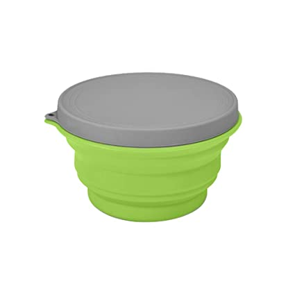 Camping Portable Foldable Collapsible Silicone Travel Bowls for Hiking Picnic