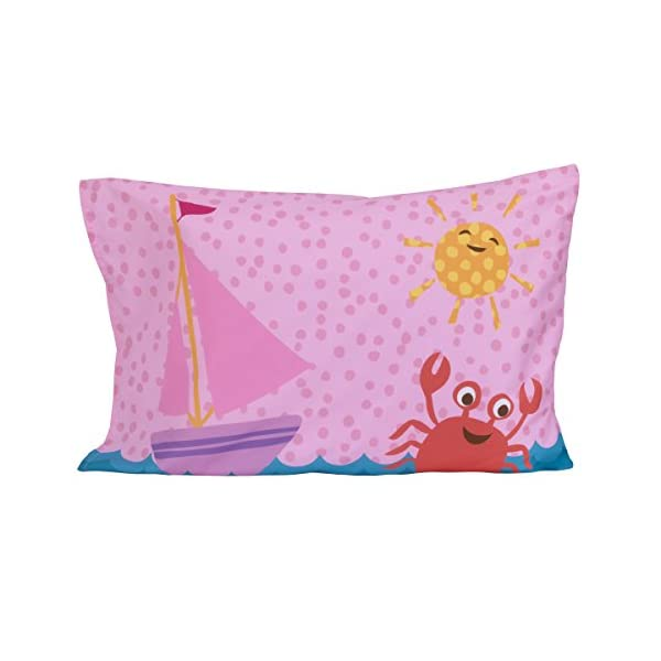 Little Tikes 4 Piece Mermaid Toddler Bedding Set 7