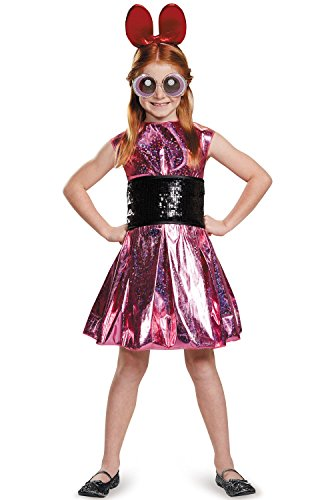 (Blossom Deluxe Powerpuff Girls Cartoon Network Costume,)