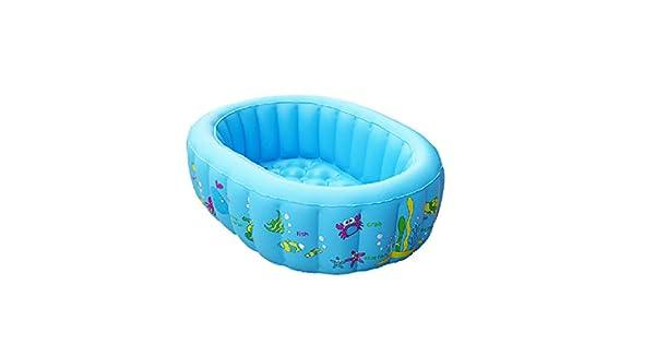 Amazon.com: Piscina hinchable plegable azul – Infantil ...