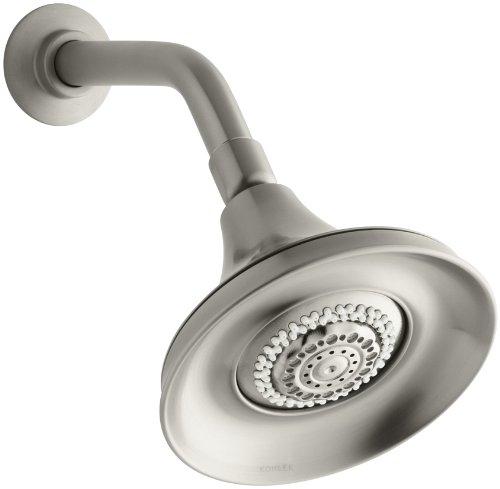 KOHLER K-10284-BN Forte Multifunction Showerhead, Vibrant Brushed Nickel - Brushed Nickel Multifunction Shower