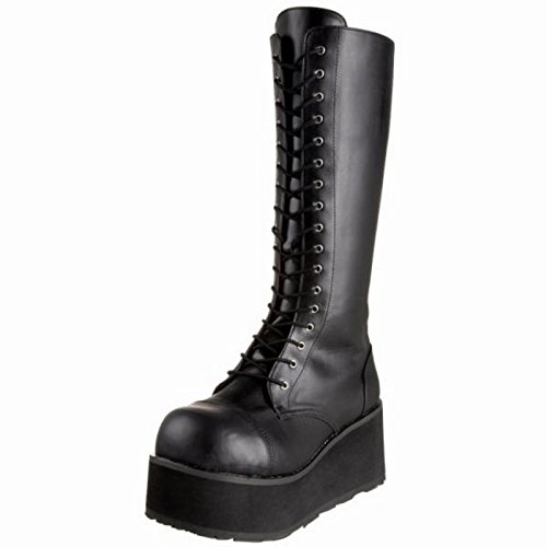Demonia TRASHVILLE-502 Blk Vegan Leather UK 8 (EU 41 )
