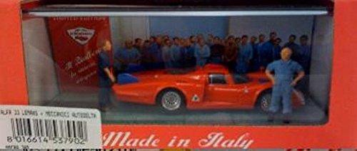 Club BIALBERO EVERES Alfa 33 Lemans + Meccanici Autodelta 1 43 MMCBA380