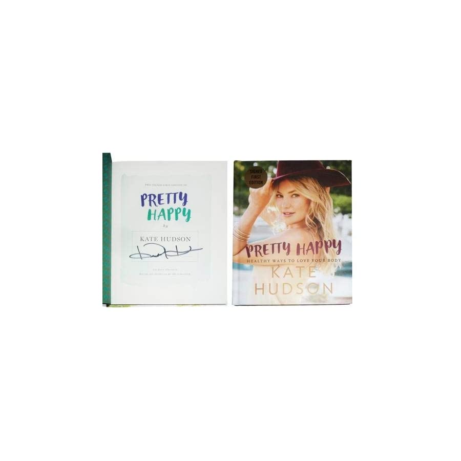 Kate Hudson Autographed Signed Auto Pretty Happy Book Autographed Signed First Edition Certified Authentic