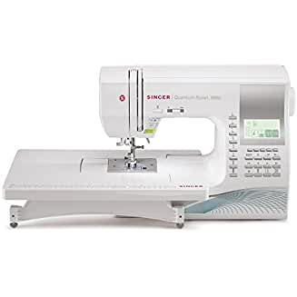 SINGER 9960 Quantum Stylist 600-Stitch Computerized Sewing Machine with 600 Built-in Stitches, 13 styles