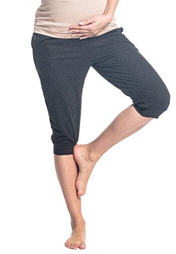 Pocket Maternity Crop Pants - 9