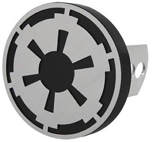 Plasticolor Hitch Covers (Plasticolor 002281R01 Star Wars Empire Imperial Symbol Hitch Cover, 1 Pack)