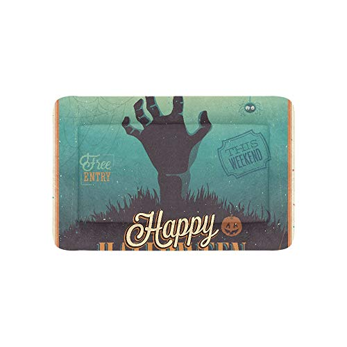 Halloween Thrilling Zombie Hand Extra Large Bedding Soft Pet Dog Beds Couch for Puppy and Cats Furniture Mat Cave Pad Cover Cushion Indoor Gift Supplier 36 X 23 Inch -
