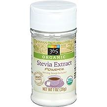 365 Everyday Value, Organic Stevia ExtraCount Powder, 1 Ounce
