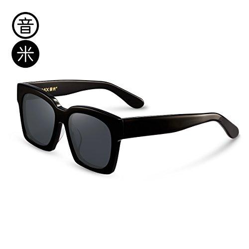 Cuadrada Gafas Exterior Polarizadas Cuadradas Cumpleaños De De Sol Conducción De Decoración Gafas Protección Sol L Viento Cara Masculino Regalo Transpar Gafas Sol De Caja Coche Uv Espejo black box Redonda gray LLZTYJ zd6OxqwX6