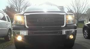 2003-2012 GMC Sierra Xenon Fog Driving Lamps lights 2010 2011