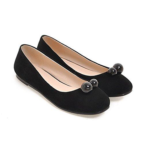 Asakuchi en primavera moda señora flat shoes/Versión coreana de zapatos minimalistas/Versátil y cómodo tacón bajo A