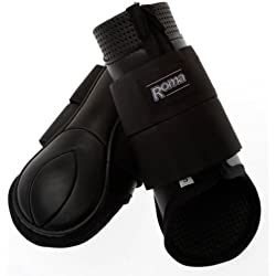 Roma Form Fit Hind Boots Full Black
