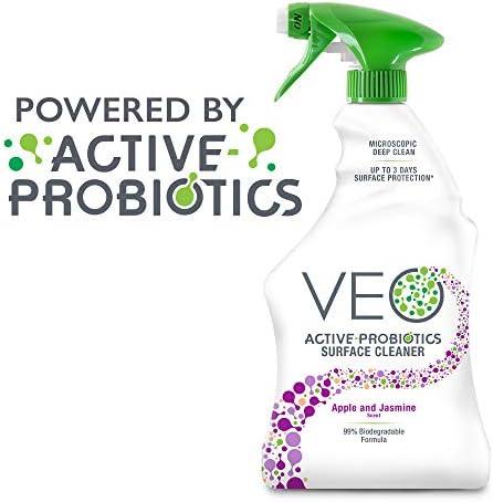 [해외]VEO Active-Probiotics All Purpose Cleaner Spray 22 Oz Apple & Jasmine Scent MultiSurface Cleaner Multipurpose Cleaner / VEO Active-Probiotics All Purpose Cleaner Spray 22 Oz Apple & Jasmine Scent MultiSurface Cleaner Multipurpose C...