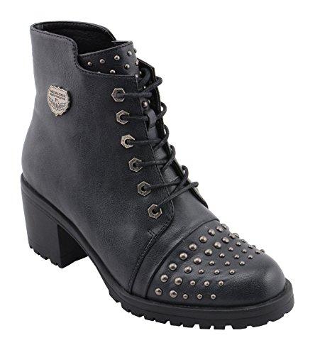 Milwaukee Performance Women's Rocker Boot (Distresed Black, 9), by Milwaukee Performance (Image #6)