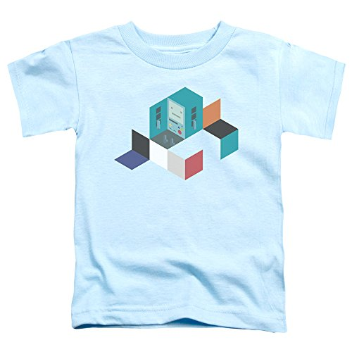 camiseta Adventure azul os claro BMO peque Time os color de ni Blocks para qHZTA
