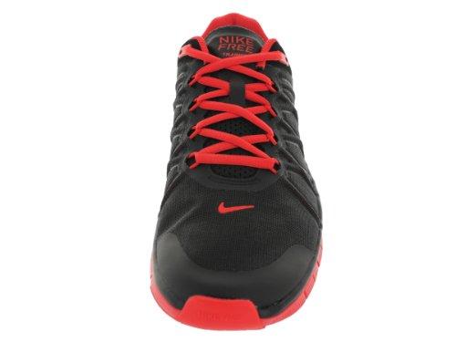 Trainer gratis 3.0 lt Negro de zapatos / Formación carmesí 10,5 nosotros