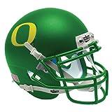 NCAA Oregon Ducks Matte Green 2 Mini Helmet, One Size, White