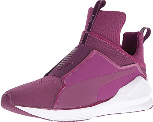 PUMA Women's Fierce Quilted Magenta Purple/Puma White Sneaker 10.5 B (M)
