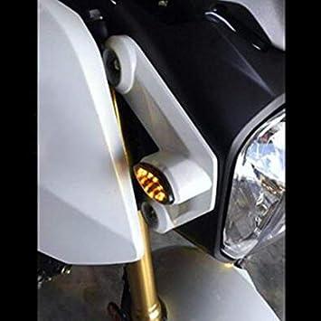 Fits HONDA GROM FLUSH LED Turn Signal Light w// 2 Pin Flasher Relay