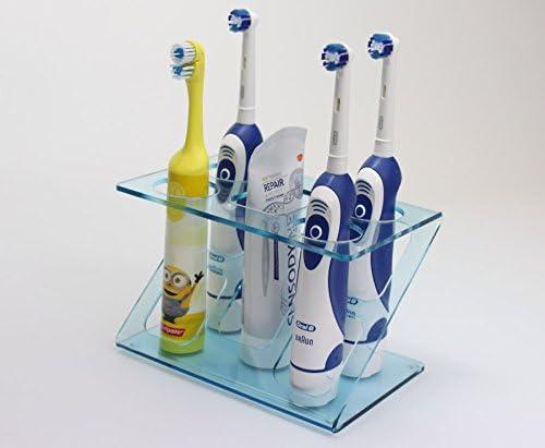 Soporte para 4 cepillos de dientes eléctricos (varios colores ...
