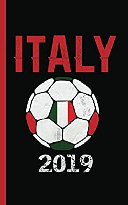 "Italy Flag Soccer Ball Journal - Notebook: Patriotic Italian DIY Writing Note Book - 100 Lined Pages + 8 Blank Sheets, Small Travel Size 5x8"" (Soccer Gear Gifts Vol 10)"