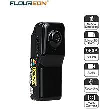 FLOUREON Mini Camera DV Sports Camcorder Camera Video Audio Recorder