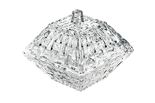 Nachtmann Dancing Stars Bossa Nova Crystal Decorative Box with Lid