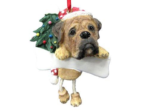 Bullmastiff Ornament with Unique