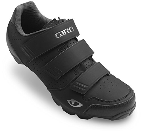 Giro Carbide R Cycling Shoes (Black/Charcoal, 44) - Mountain Bike Cycling Shoes