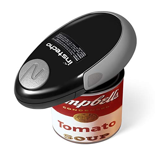 Electric Can Opener, Mini Restaurant Can Opener, Smooth Edge