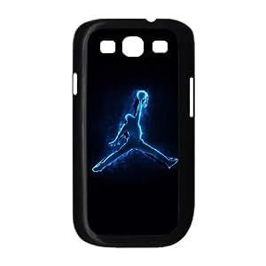 Jordan Logo funda Samsung Galaxy S3 9300 caja funda del teléfono celular del teléfono celular negro cubierta de la caja funda EEECBCAAL04593
