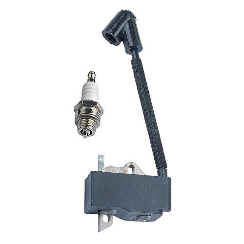 HIPA 300953001 Ignition Coil Module for Homelite UT10517 UT10518 UT10520 UT10550 UT100550 UT10519 UT10522 UT10526 UT10530A Chain Saw