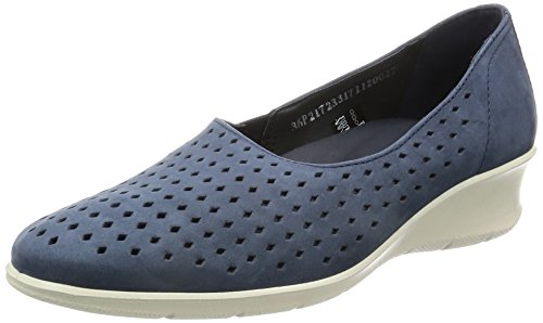 ECCO Women's Women's Felicia Summer Slip-on Loafer, Marine, 38 EU/7-7.5 M US by ECCO