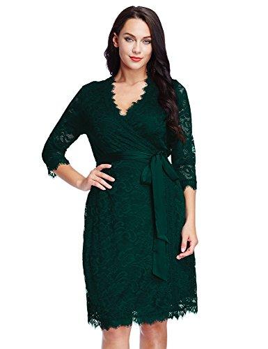 Green Plus Size Formal Dresses
