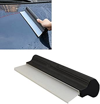 """Silicone Squeegee Drying Blade Car Window Wash Clean Cleaner Wiper Flexible 12/"""""""
