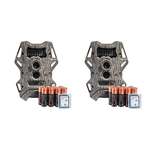 Wildgame Innovations Cloak 14 Infrared Hunting Game Deer Trail Camera (2 Pack)