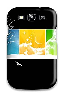 New Fashionable LeeHancock WHEsThE5223toCqR Cover Case Specially Made For Galaxy S3(nature)