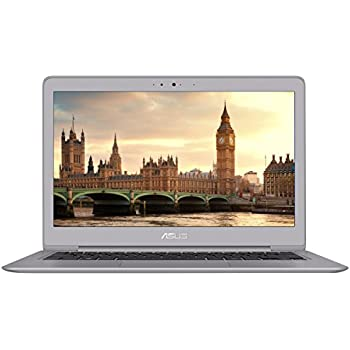 ASUS ZenBook Ultra-Slim Laptop, 13.3-inch Full HD, 8th gen Intel i5-8250U Processor, 8GB RAM, 256GB SSD, Backlit keyboard, Fingerprint Reader, Anti-Glare, Windows 10, Grey, UX330UA-AH55