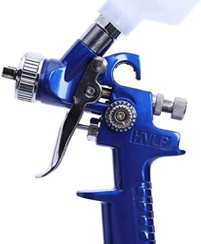 Ugello 0.8MM / 1.0MM H-2000 Mini Air Paint Pistola A Spruzzo Airbrush Pistola A Spruzzo Professionale per La Verniciatura Dell\'auto,Nozzle1.0Mm
